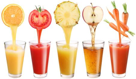 Curas de jugos de frutas y verduras - santé nutrition