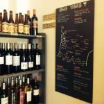 Bières et vin dont les bouteilles sont consignées
