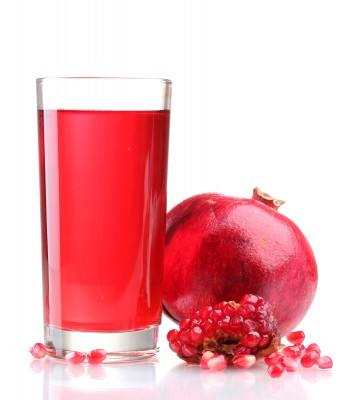 Pomegranate juice reduction