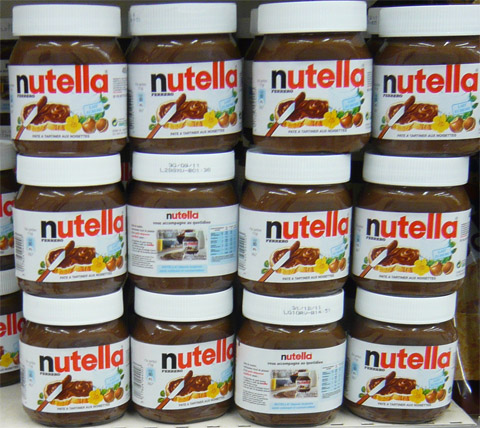 Pots-de-Nutella