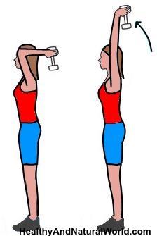 6 exercícios simples para se livrar dos braços flácidos