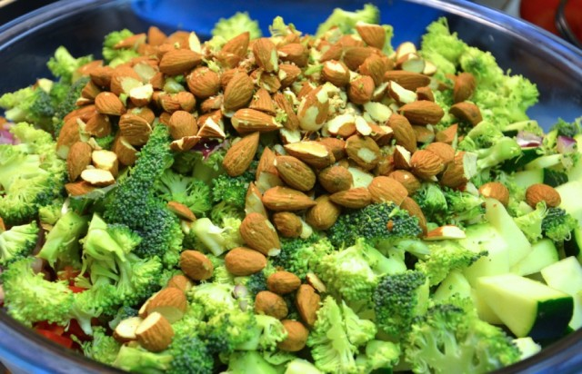 amandes-et-brocoli