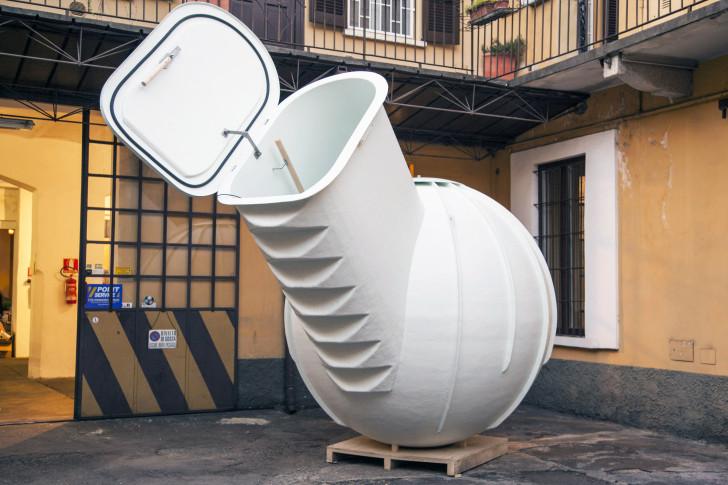 ce frigo souterrain sans lectricit vous permet de stocker des denr es p rissables sans. Black Bedroom Furniture Sets. Home Design Ideas