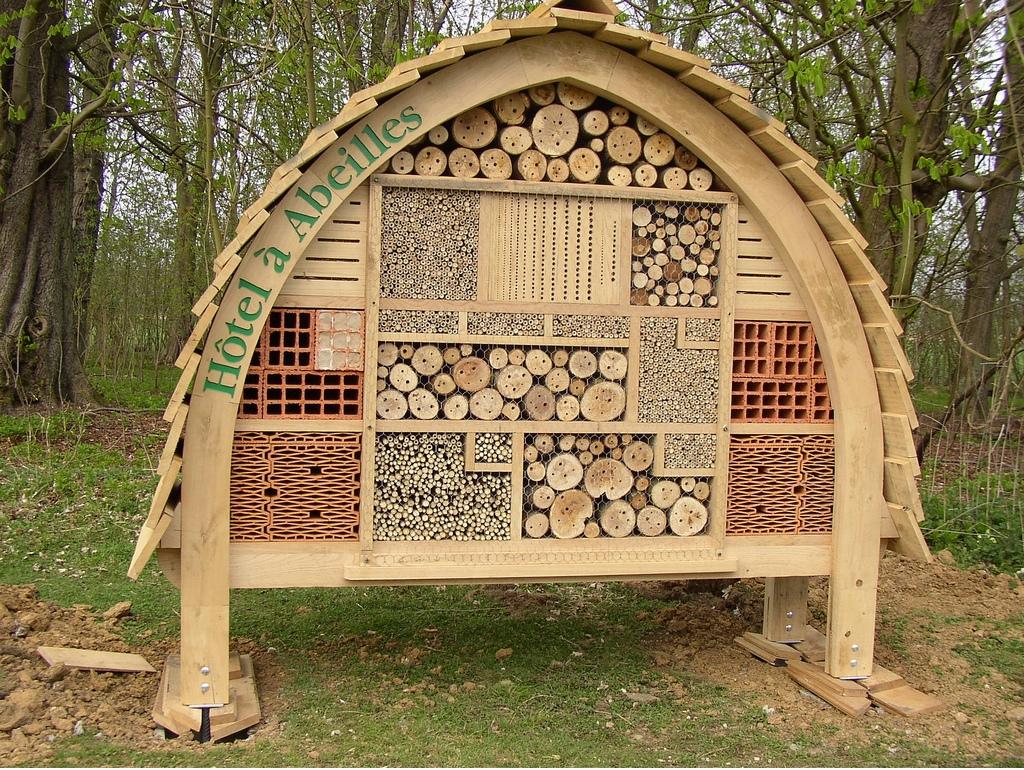 comment construire des h tels abeilles pour garantir la survie des abeilles sauvages sant. Black Bedroom Furniture Sets. Home Design Ideas