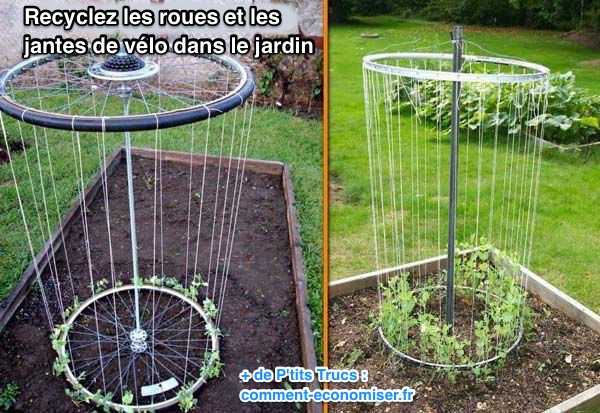 recycler-roues-jantes-velo-jardin