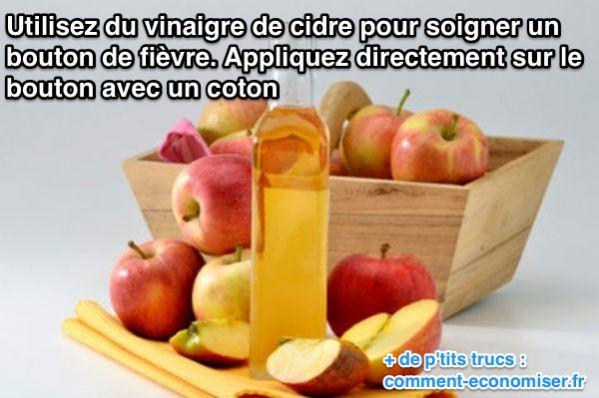 vinaigre-cidre-bouton-fievre