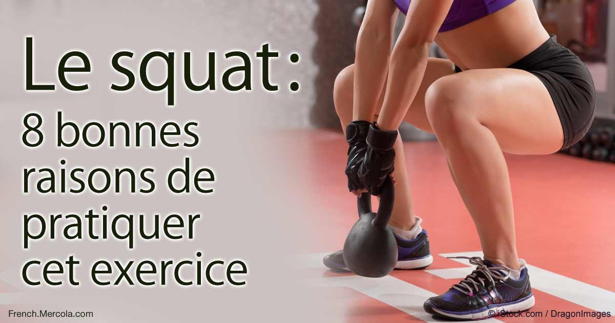 Le squat : 8 bonnes raisons de pratiquer cet exercice