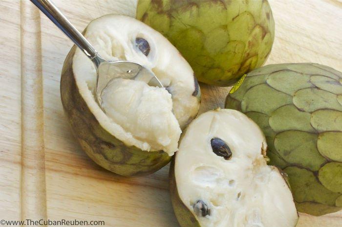 Chérimole (ou fruit crème glacée)