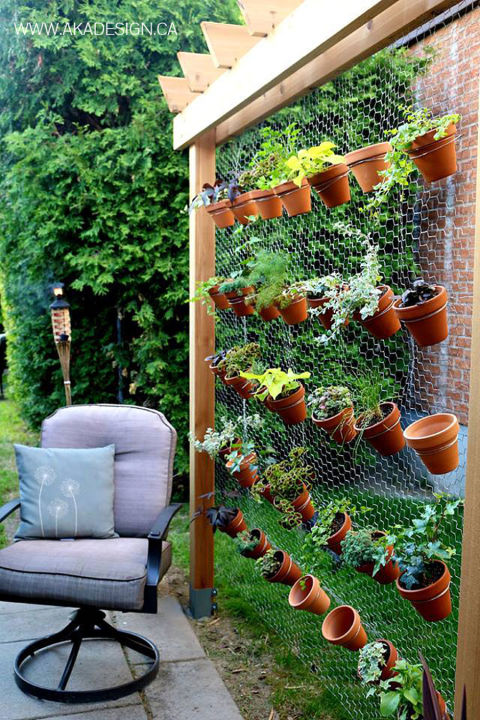 vertical garden wall1 - Comment Faire Un Jardin Vertical