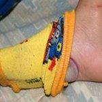 Quand elle m'a dit de mettre un oignon dans ma chaussette, je n'aurais jamais pensé que ça ferait ça!