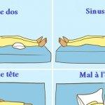 Neuf positions de sommeil pour favoriser le rétablissement